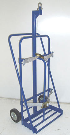 Oxygen Or Acetylene Trolley With Central Eye For Lifting With Overhead Crane