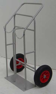 Oxygen or Acetelyne Site Trolley