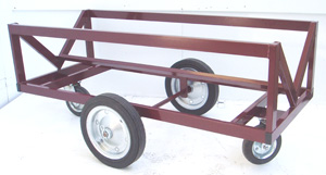 4 Wheeled 1 Tonne Pipe Trolley