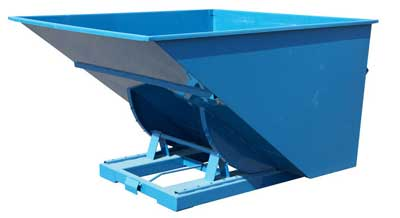 2500 L Auto Release Tipping Skip