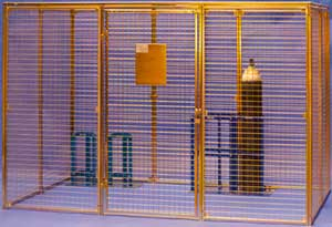 Secure Storage Cages