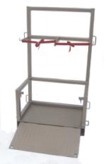 Cylinder Lifter, Holder & Transport Platform