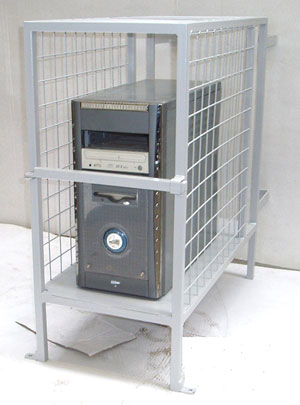 Secure Computer Cage