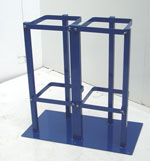 Dual Cylinder Floor Stand