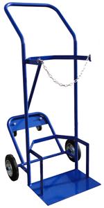 3 Wheeled Single 47Kg Propane Trolley