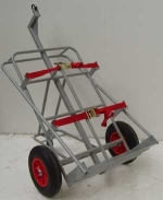 Oxy and Acet Single Cylinder Lifting Trolley