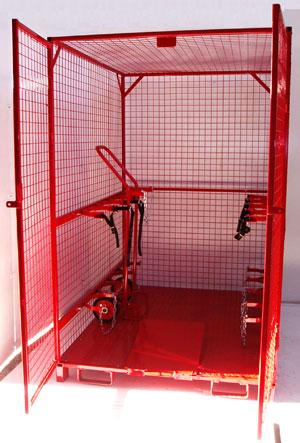 Forklift Truck Cylinder Lifting Cage
