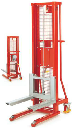 Industrial Winch Stacker