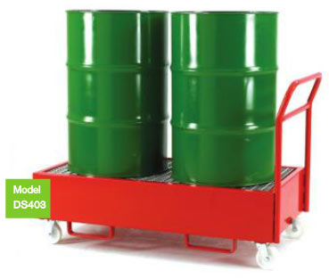 Mobile Drum Sump Trolley / Dispenser