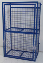 Fully Enclosed Cylinder Cage For The Storage Of 4 X 12kg/15kg/ Or 18kg  Propane/butane Cylinders. Constructed From Fully Welded Box Section With  10g Mesh ...