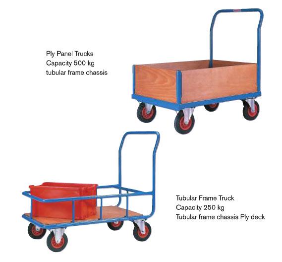 Side Frame Platform Trucks