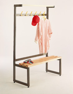 Single Island Unit Coat Stand