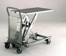 200 kg Stainless Steel Lifting Table With Foot Pump
