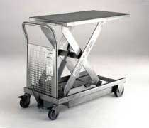 500 kg Stainless Steel Lifting Table With Foot Pump