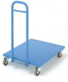 Platform With Folding Handle