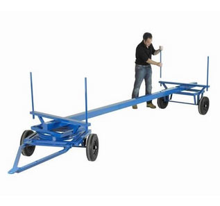 1000kg Long Load Towing Trailer