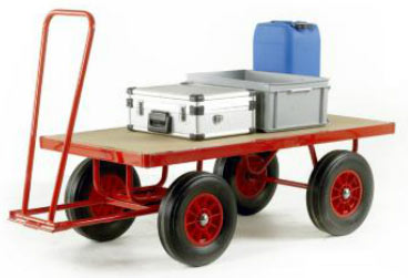 Trader Truck Hand Turntable Trailers