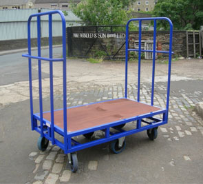 Traditional Warehouse Platform Trucks